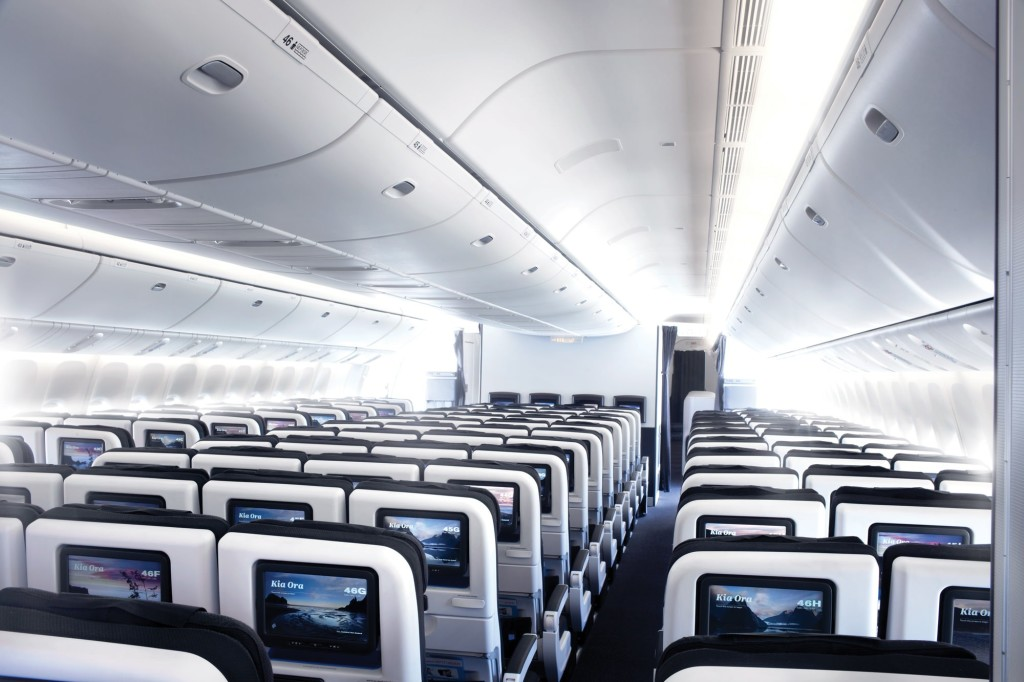 air new zealand economy skycouch 777-300er 77w