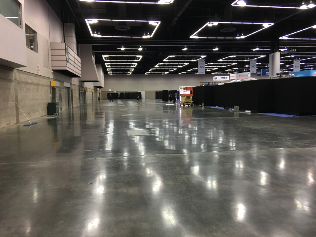 Acres of empty space at the APEX Expo were not a great sign