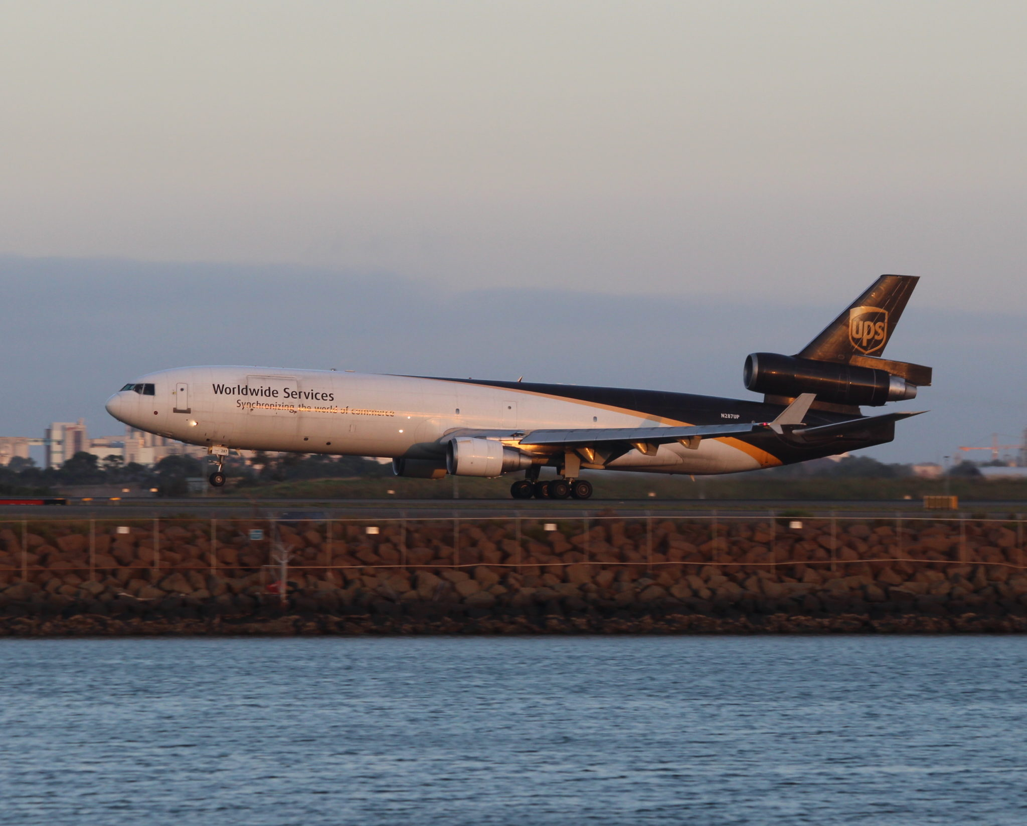 Lepley flies the professionally challenging MD-11 aircraft for a cargo airline. Image: John Walton