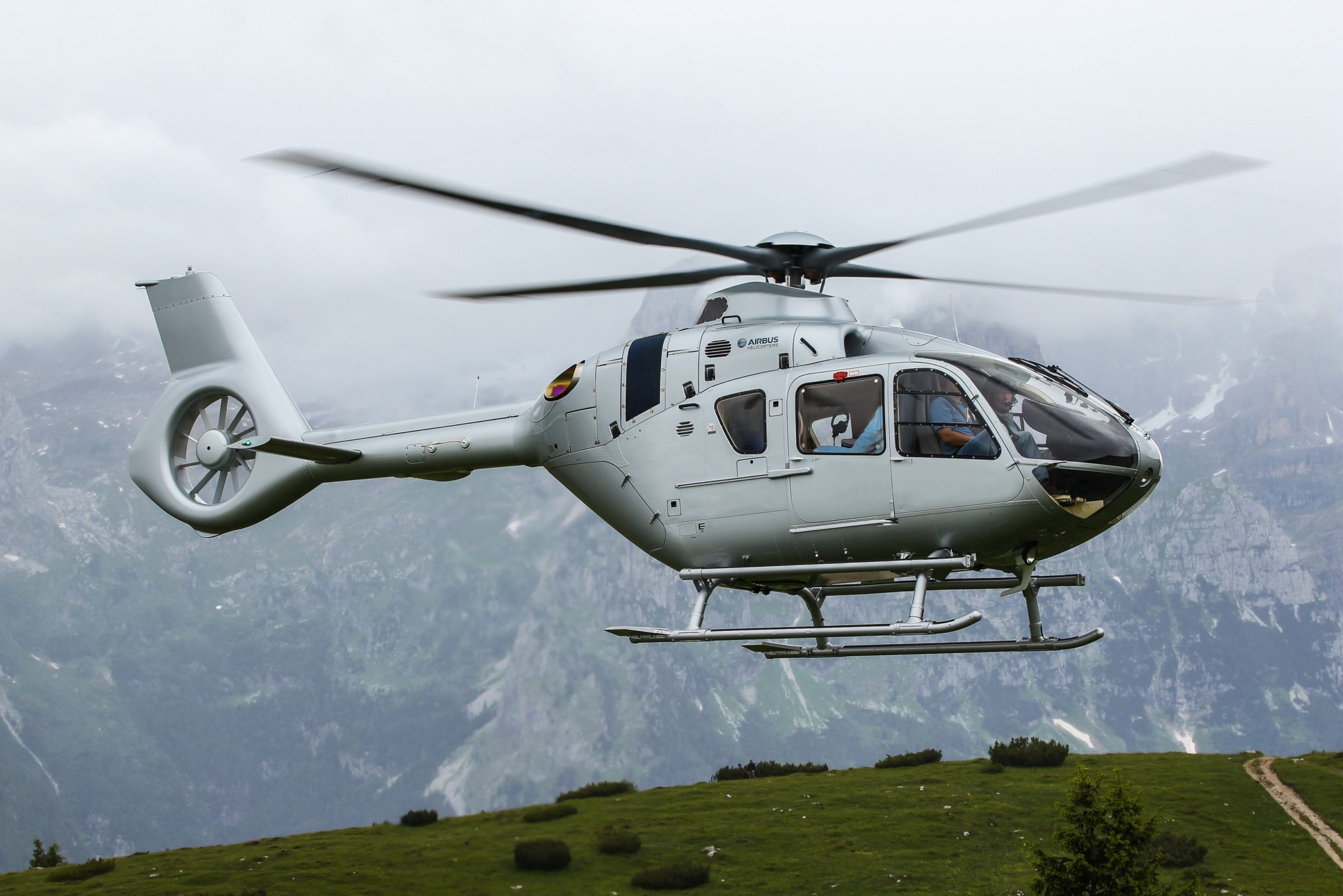 H135 customers benefit from the type's proven utility and reliability in multiple roles, including mountain flying. Image: Airbus