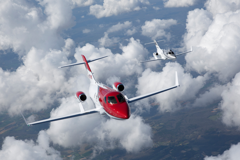 GE Honda Aero engines, an Ohio-based joint venture between GE Aviation and Honda Aero, produces the HF120 small turbofan engine which powers the HA-420 HondaJet light business jet. Image: HondaJet
