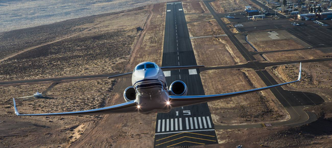 The Gulfstream G650's PlaneConnect Health & Trend Monitoring system employs GE Aviation's Integrated Vehicle Health Management technology. Image: Gulfstream Aerospace