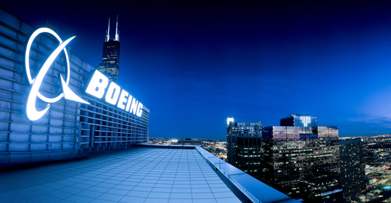 Boeing takes aim at its avionics suppliers, sending stocks down